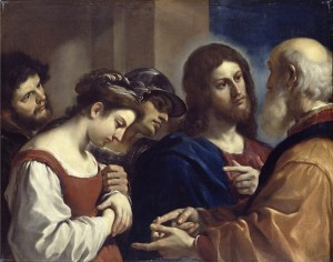 By Guercino - 1. Unknown2. BBC Your Paintings3. The Bridgeman Art Library, Object 18456, Public Domain, https://commons.wikimedia.org/w/index.php?curid=8249800