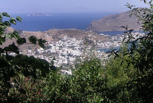 Isla de Patmos en la actualidad