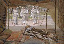 Abraham y los tres visitantes