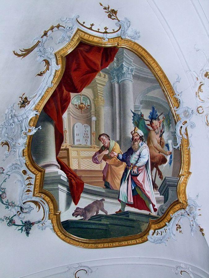 Fariseo y Publicano en el templo