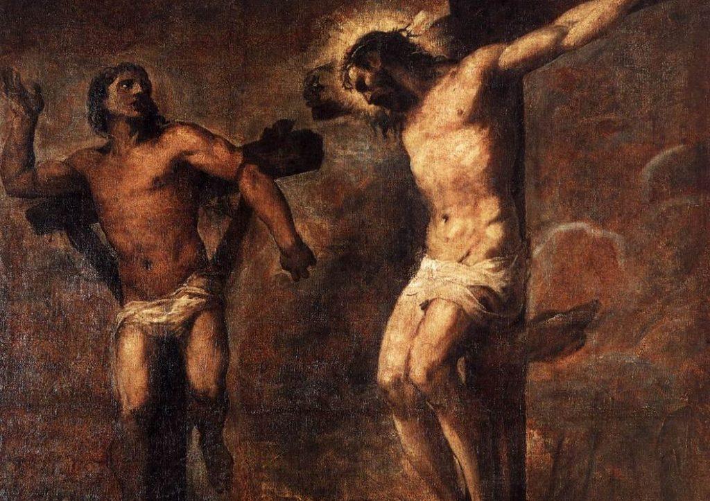 Jesús y el buen ladrón