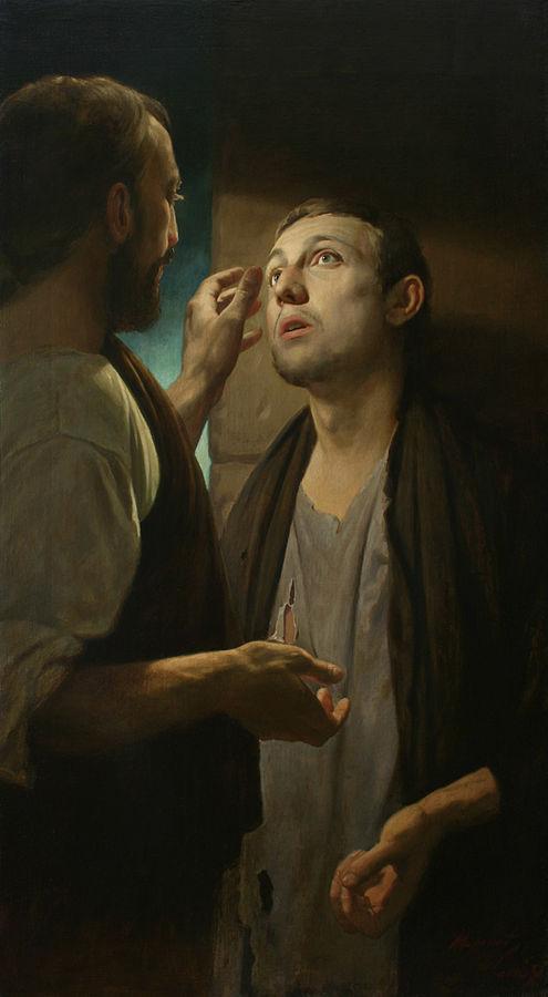 Jesús y el ciego