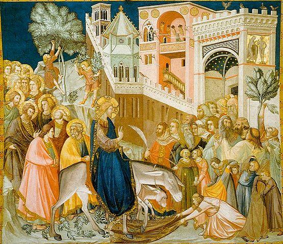 Entrada de Cristo a Jerusalén
