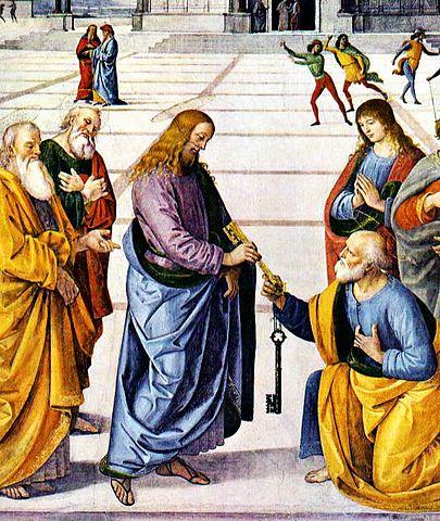 Imagen de Cristo y Pedro