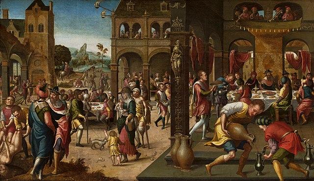 Parábola del gran banquete