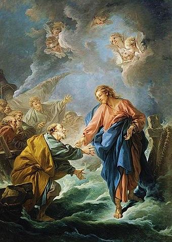 San Pedro y Jesús