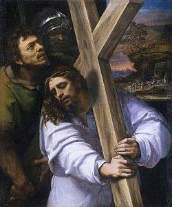 Cristo cargando su cruz