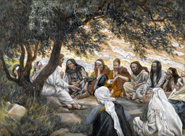 Jesus y sus discípulos