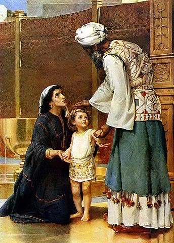 Ana dedica su hijo al templo