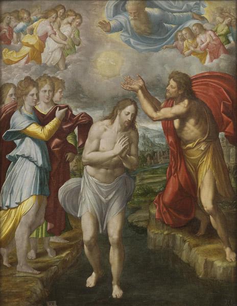 El Bautismo de Cristo