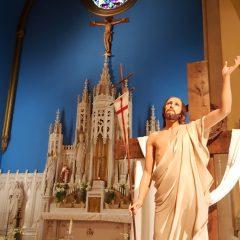 ¡Jesucristo resucitó! ¡Viva Cristo Rey!