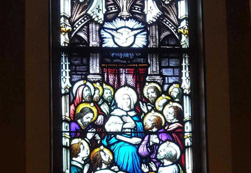 Vitral de Pentecostés