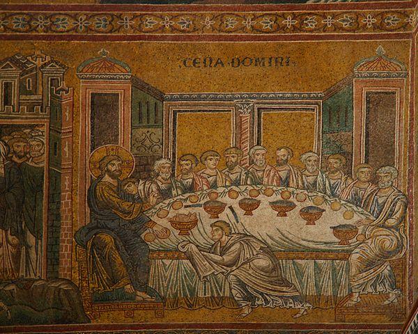 Banquete utilma cena