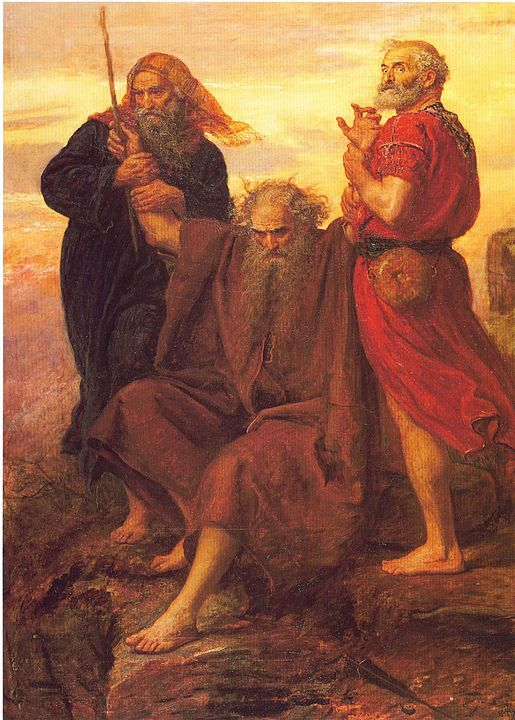 Moisés, Aarón y Jur