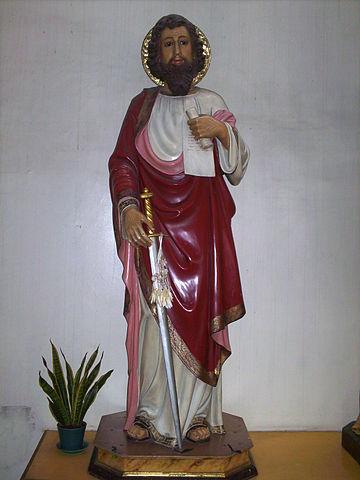 Estatua de San Pablo