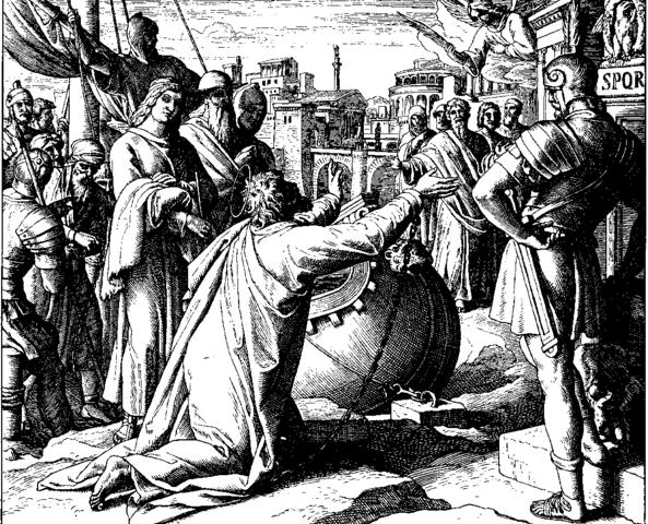 Pablo llega a Roma