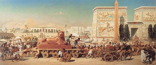 Exodo, los hijos de Israel en Egipto