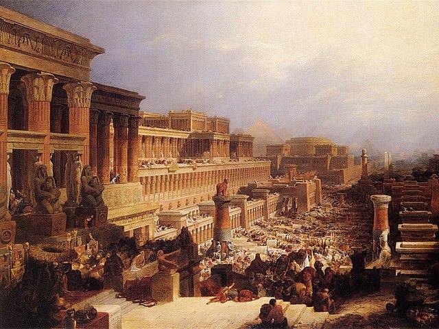 Salida de los israelitas de Egipto