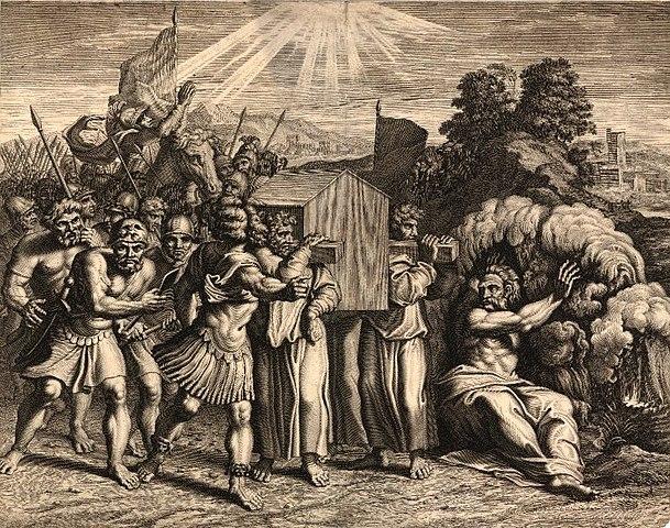 Josué cruzando el Jordán