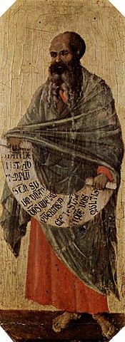 El profeta Malaquías
