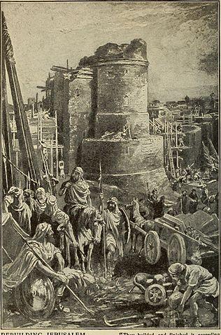 Reconstrucción de Jerusalén