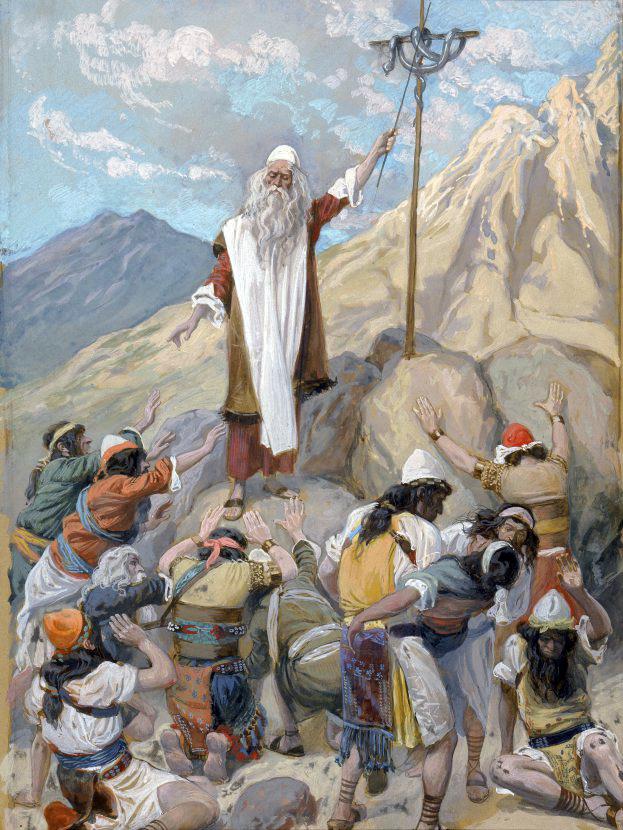 Moisés Serpiente de Bronze